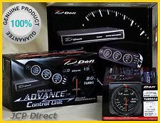 DEFI ADVANCE CR Turbo Boost Gauge 200kPa Black Dial 60mm + Control Unit Set