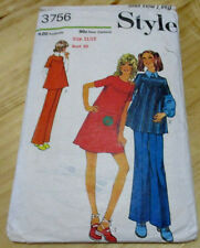 STYLE SEWING PATTERN 3756 Dress Smock Trousers Teen  11 - 12