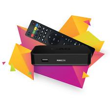 MAG 256 Genuine Original Infomir Linux IPTV/OTT Box, Faster than MAG 254 EU plug