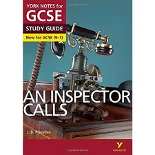 An Inspector Calls York Notes GCSE (9-1) Study Guide Workbook Prieistley Play