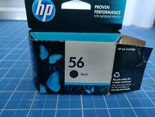 Genuine HP 56 Black Ink Cartridge - Sealed
