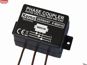 Phasenkoppler für Powerline Produkte M091N Kemo