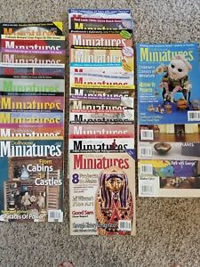 Dollhouse Miniatures Magazine: Lot Of 26; 2005-2007