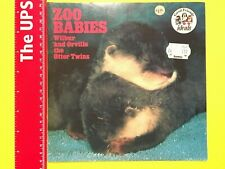 Vintage Zoo Babies ~ Wilbur And Orville The Otter Twins ~ Good Friends Ideals