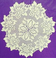 Lace Doilies Savoy 13 Inch Round Ivory Doilies Set Of (2) Oxford House