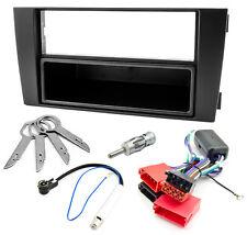 Radioblende Set AUDI A6 4B C5 DIN Blende Aktivsystem Adapter ISO Phantomspeisung