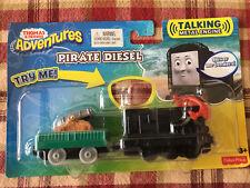 NEW Thomas & Friends Train Adventures Pirate Diesel Talking Metal Engine