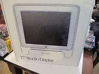 "APPLE - 17"" STUDIO DISPLAY MONITOR - Orig Box - LCD FLAT PANEL - MAC collectable"
