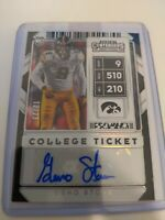 2020 Contenders Draft Geno Stone CRACKED ICE Rookie Auto! /23 ! SSP RC Ravens 📈