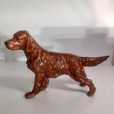New ListingVintage Irish Setter Dog Figurine, Ceramic Statue