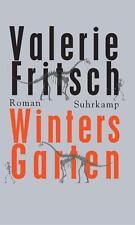 Winters Garten Roman von Valerie Fritsch (2015, Gebundene Ausgabe) Suhrkamp