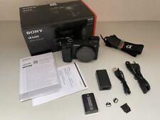 Sony α (alpha) A6400 Alpha 6400 Body Gehäuse - 6989 Auslösungen