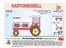 MDK-Verlag 8009 - Geräteträger RS-09 Maulwurf - rot - Maßstab 1/25 - 14cm