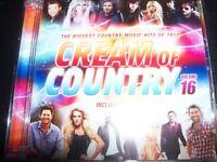 Cream Of Country Volume 16 CD DVD (Carrie Underwood Kenny Chesney Luke Bryan) –