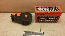 NOS Vintage Watson 35mm Bulk Film Loader #100-35MM Pfefer Products 6740008870098