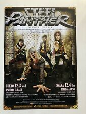 Steel Panther 2014 Japanese Promo Tour Flyer Rare