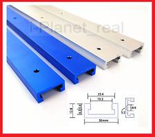 T-track Jig Fixture Miter Slot Aluminium Alloy DIY Tool  Table Different Lengths