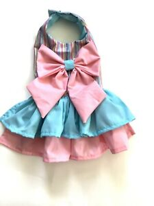 Handmade Summer doggy Dress Size medium