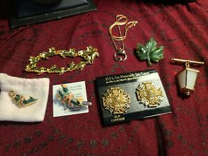 Kenneth Jay Lane And Avon Jewelry Lot