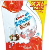 Ferrero KINDER Schoko-Bons XXL Pack 500 g - Chocolate Candy From Germany
