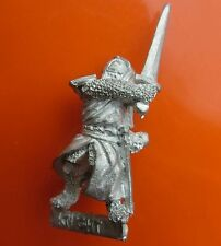 Knight men-at-arms Bretonnian gw citadel games workshop red catalogue sword #