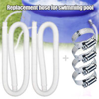 "1/2Pcs Replacement Hose for Above Ground Pools 1.25"" Diameter Pool Pump 59"" Long"