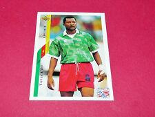 VICTOR N'DIP CAMEROUN FIFA WC FOOTBALL CARD UPPER USA 94 PANINI 1994 WM94