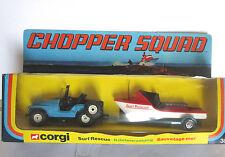 """Corgi surf rescue  # 35 """"Chopper Squad """"  2 pack VINTAGE"""