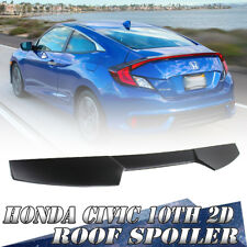SHIP FROM LA For Honda Civic 10th V Look Roof Spoiler Unpainted 2DR Coupe