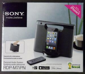 Sony Personal Audio System Model   RDP-M7iPN    IN FACTORY BOX   NEW