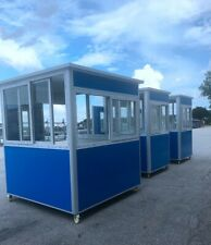 Guard Shack Ticket Toll Security Booth Prefab Portable Office 65x65x75ft