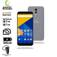 4G Lte Android 6 SmartPhone (Gsm unlocked + 5.6in Screen + QuadCore Cpu) Black