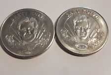 2 1996-97 Pinnacle Mint Collection Silver coins-Hull+Koivu