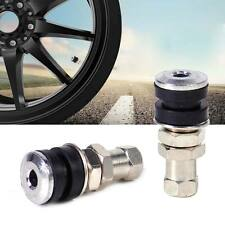 Tire Wheel Valve Tubeless No Tube Stem Fit for Motorcycle Car Bike ATV Bicycle