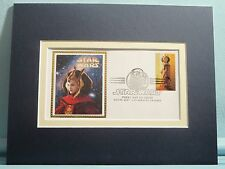 Star Wars - Episodes I to III & First day Cover of Queen Amidala Stamp