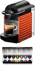 Krups Nespresso Pixie XN3006 1260W Coffee Maker of Capsules - Red
