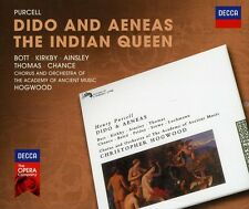 Dido & Aeneas The Indian Queen - H. Purcell (2012, CD NIEUW)2 DISC SET