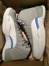 Nike Air Jordan 12 XII Retrò UNC 2016 DS Nuovo UK 8 US 9 TAXI Influenza Gioco PLAYOFF