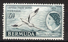 BERMUDA 1953 ROYAL VISIT IMPRINT BLOCK OF 4 MNH