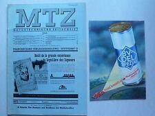 MTZ Motortechnische Zeitschrift 1950 Nr.6 mit Harnischfeger / Mitsubishi Diesel