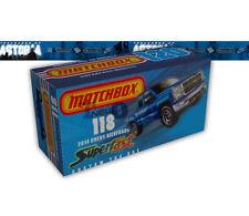 Custom Fictitious Matchbox Superfast BOX for 2014 Chevy Silverado Dual Cab