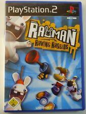 !!! PLAYSTATION ps2 jeu Rayman Raving Rabbids d'occasion, mais bien!!!
