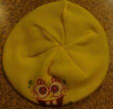 Spongebob Squarepants Hat and Gloves Set Beret New