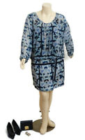 City Chic Boho Sheath Long Sleeves Dress | Plus Size: L (20)