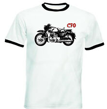 HONDA C70 INSPIRED - NEW COTTON TSHIRT - ALL SIZES IN STOCK