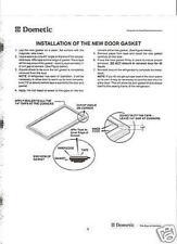 Dometic RV Refrigerator Door Gasket Kit 3108704268