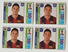 2014 15  Panini Champions League. STICKERS. SHINY LIONEL MESSI (4)