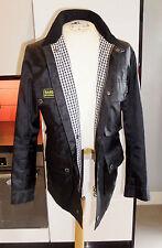 Barbour Zip Hip Length Biker Jackets for Men