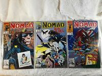 Nomad Comic Books Lot of 3 1992 #1 #2 #3  Marvel