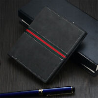 Men's Leather RFID Blocking Bifold Wallet Fashion Design Credit Card Protector B